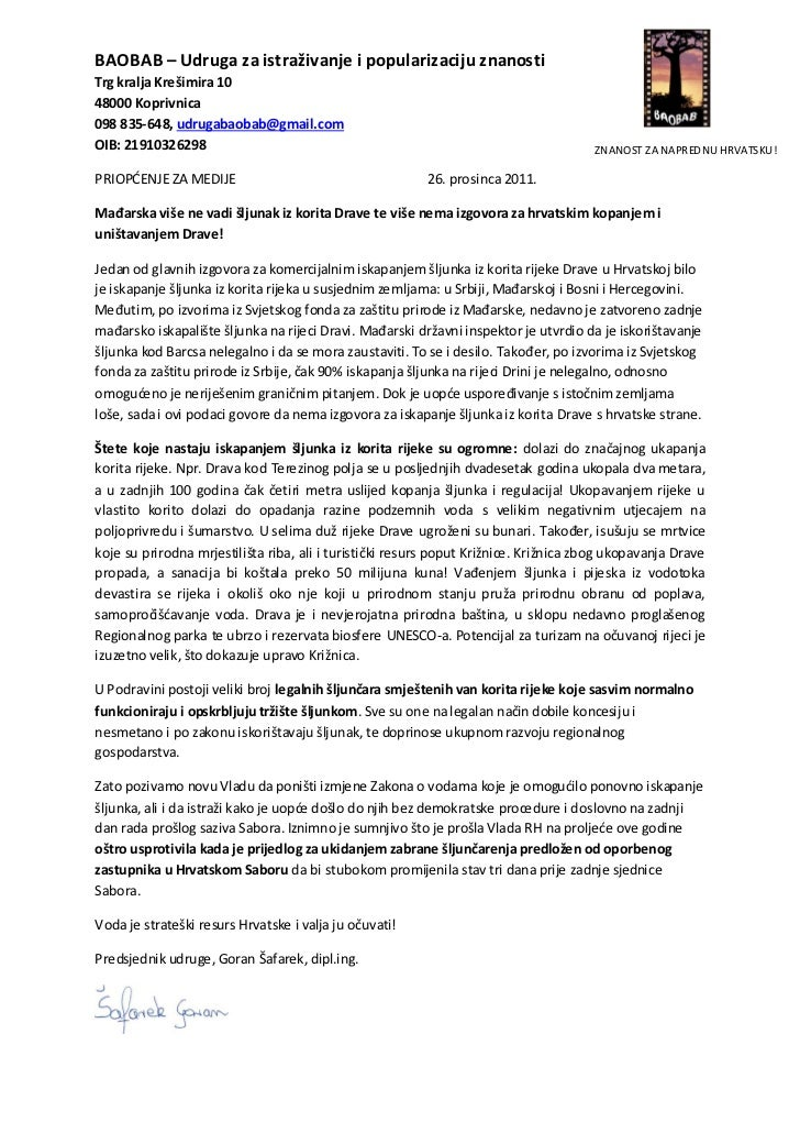 BAOBAB – Udruga za istraživanje i popularizaciju znanostiTrg kralja Krešimira 1048000 Koprivnica098 835-648, udrugabaobab@...