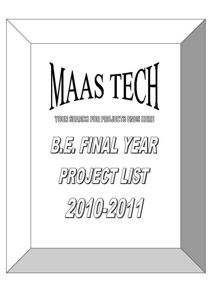 LATEST IEEE BASED EMBEDDED SYSTEMS PROJECTS TITLES 2012-MAASTECH