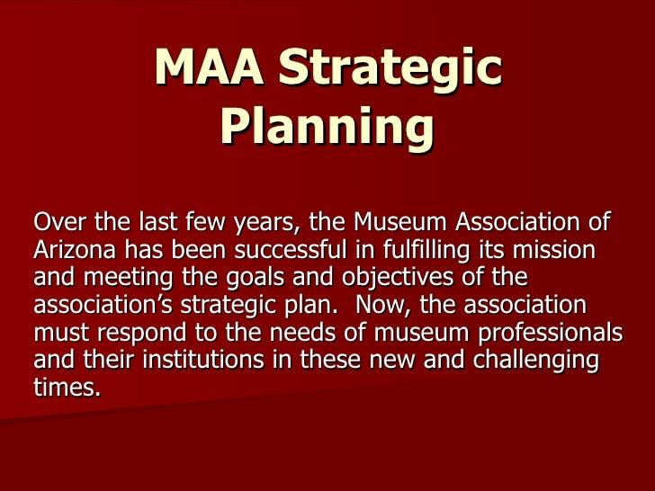 MAA Strategic Planning