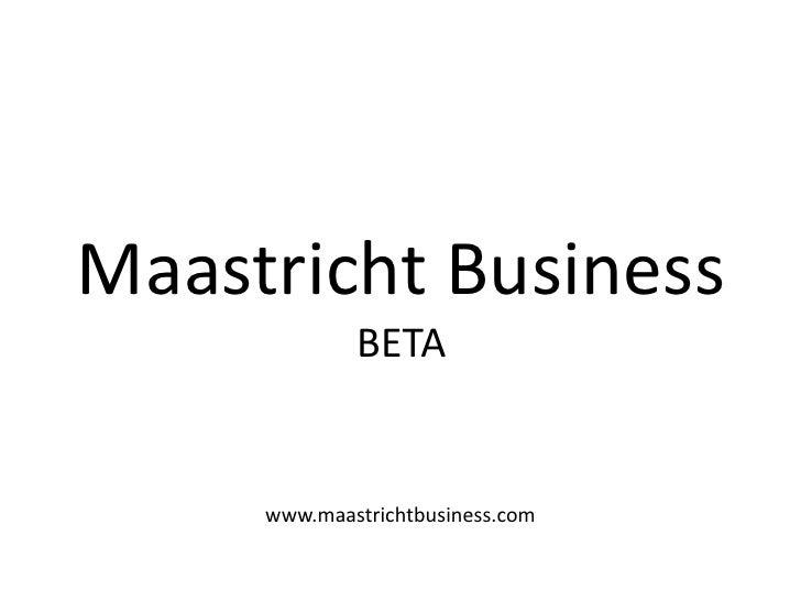 Maastricht Business