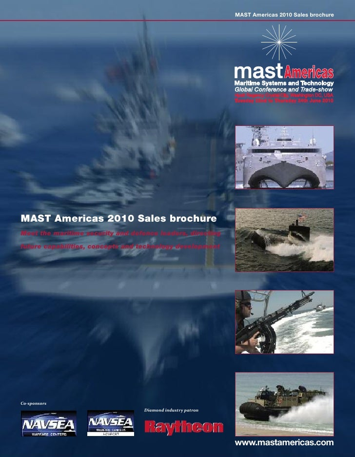 MAST Americas 2010 Sales brochure                                                                  Global Conference and T...