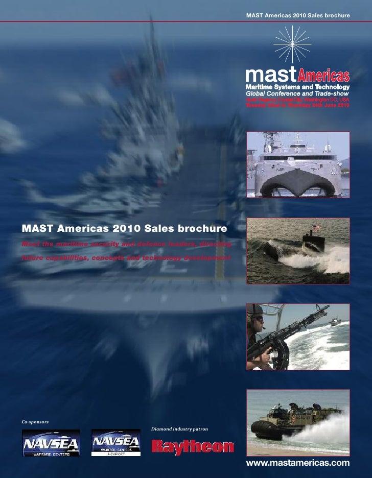MAST Americas 2010 sales brochure