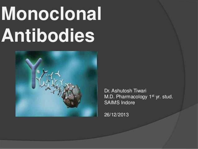 monoclonal antibodies research paper Monoclonal antibodies are at the cutting edge of medical research download this white paper from fibercell systems to learn more.