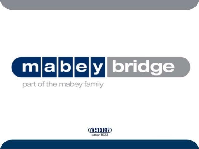 Mabey Bridge - Transport considerations - Phil Bailey,  Mabey Bridge