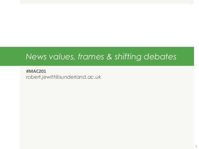 Mac201 news values