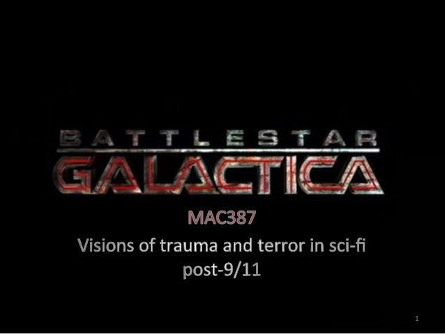 Mac387 Battlestar Galactica: contemporary US scifi