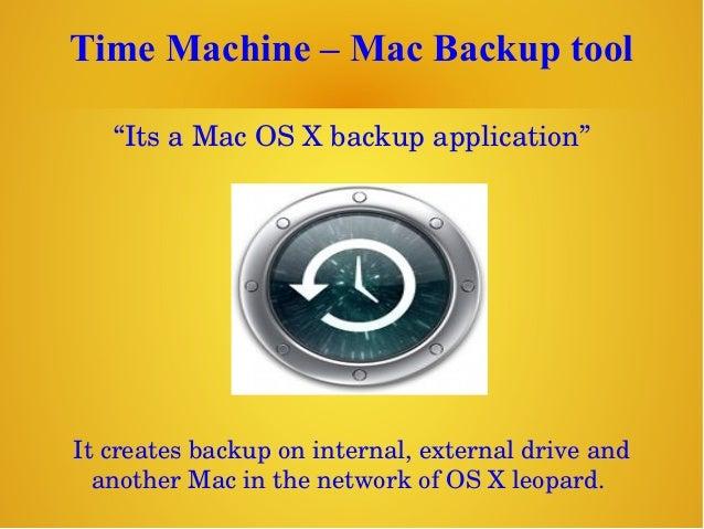 "Time Machine – Mac Backup tool ""ItsaMacOSXbackupapplication"" Itcreatesbackuponinternal,externaldriveand anot..."