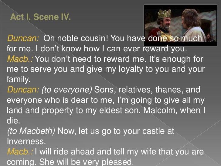 Macbeth character change essay