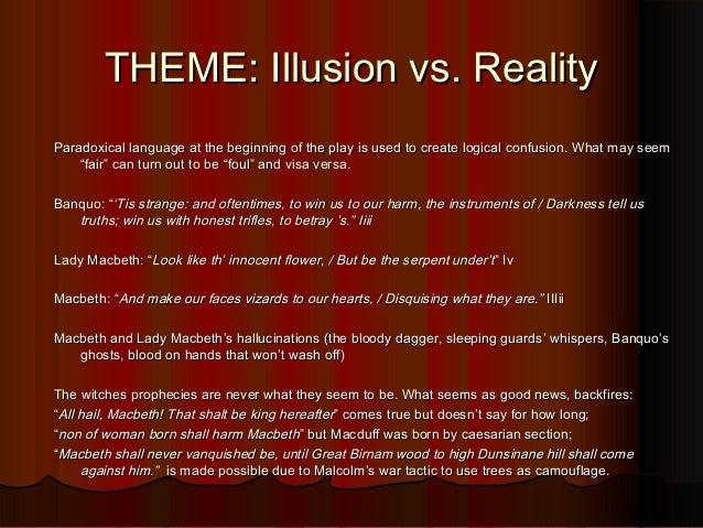 appearances vs reality macbeth essay introduction