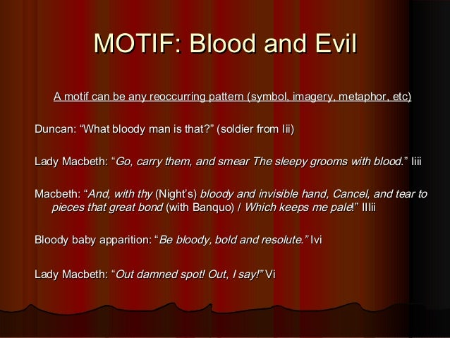 my review on macbeth and the symbol of blood Macbeth: the symbol of blood essays: over 180,000 macbeth: the symbol of blood essays, macbeth: the symbol of blood term papers, macbeth: the symbol of blood research paper, book reports 184 990 essays, term and research papers available for unlimited access.