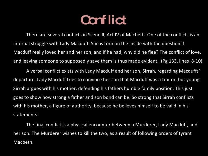 Hamlet Conflict Essay