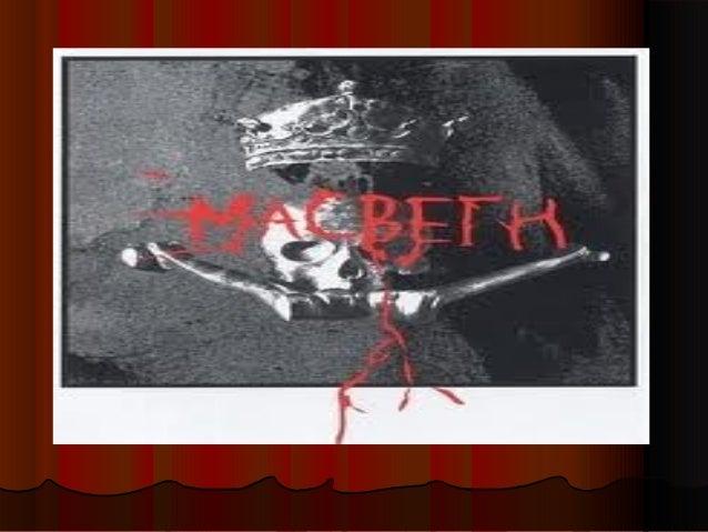 MacbethThe bad man?