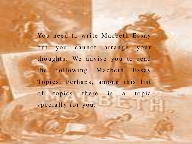 Macbeth Power Essay