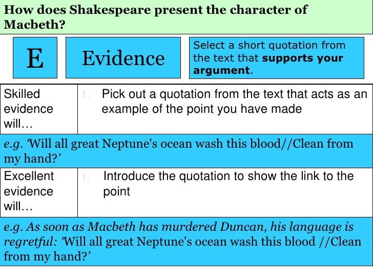 HOW do writers present CHOICES in Macbeth and Great Expectations?
