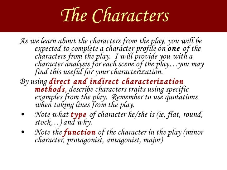 macbeth essay on minor characters