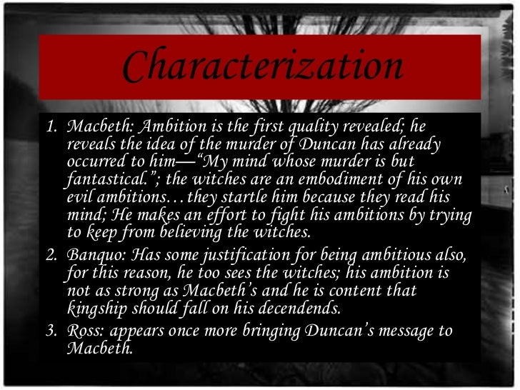 macbeth ambition quotes
