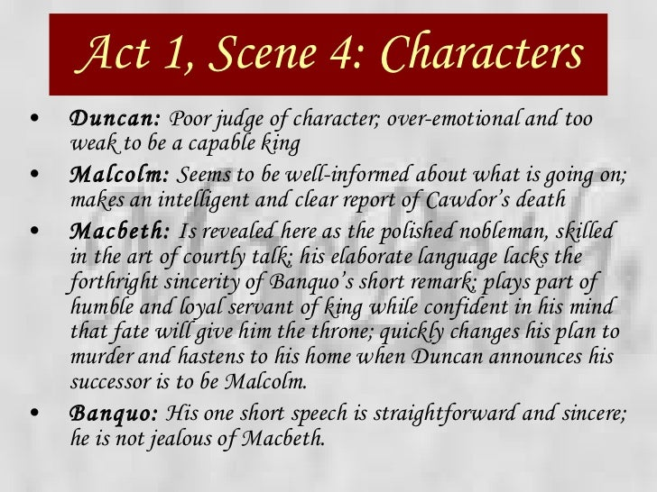 the contrast in lady macbeths character between act 1 scene 5 and act 5 scene 1 essay Act 1, scene 5 previous scene | next scene scene v inverness macbeth's castle enter lady macbeth, reading a letter lady macbeth thou'rt mad to say it.