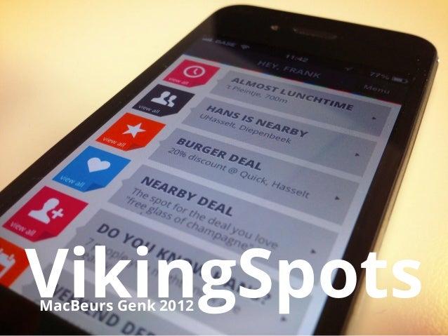 VikingSpotsMacBeurs Genk 2012