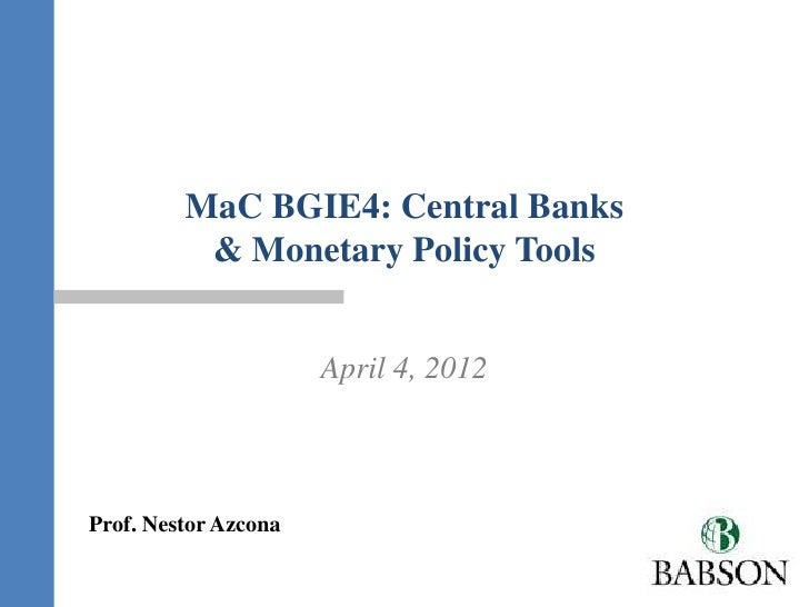 MaC BGIE4 central bank   azcona