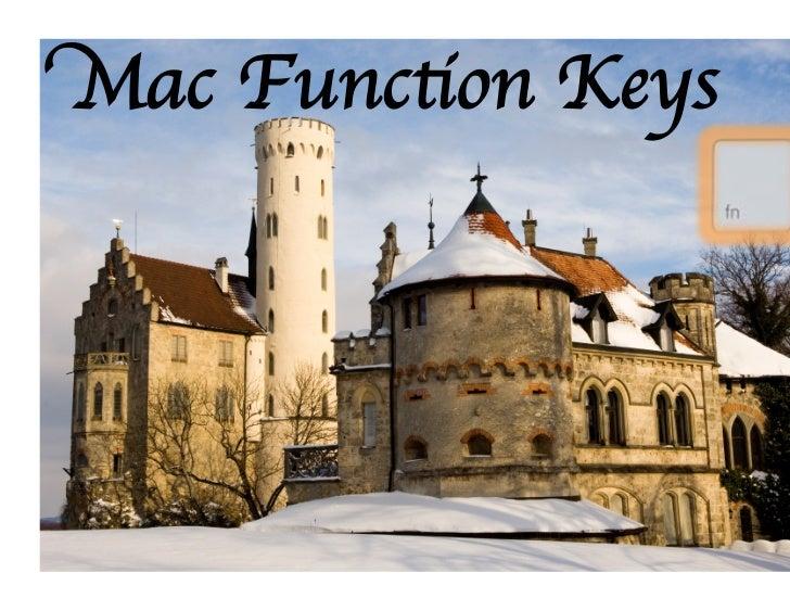 Macbook Function Keys Explained