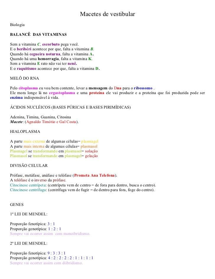 Macetes de vestibular - www.iaulas.com.br