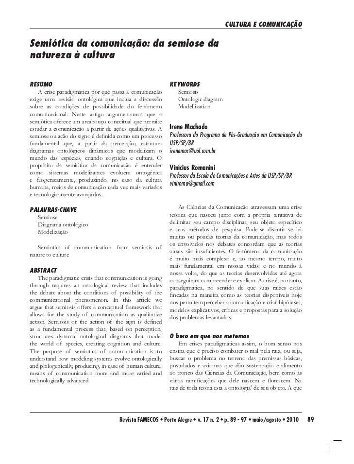 Machado romanini-semio da comu