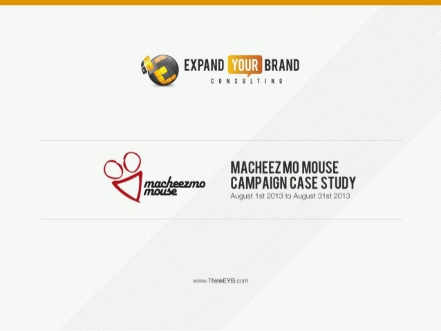 A case study on Macheezmo Mouse Social Media Campaign