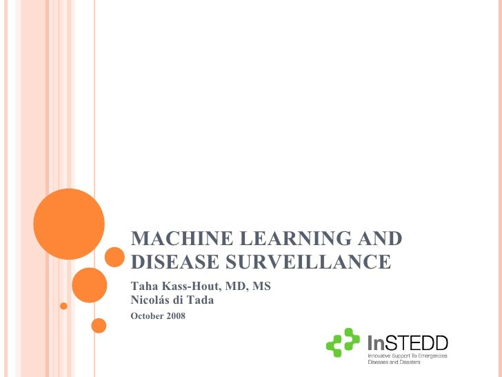 Biosurveillance: Machine Learning And Disease Surveillance by Kass-Hout Di Tada