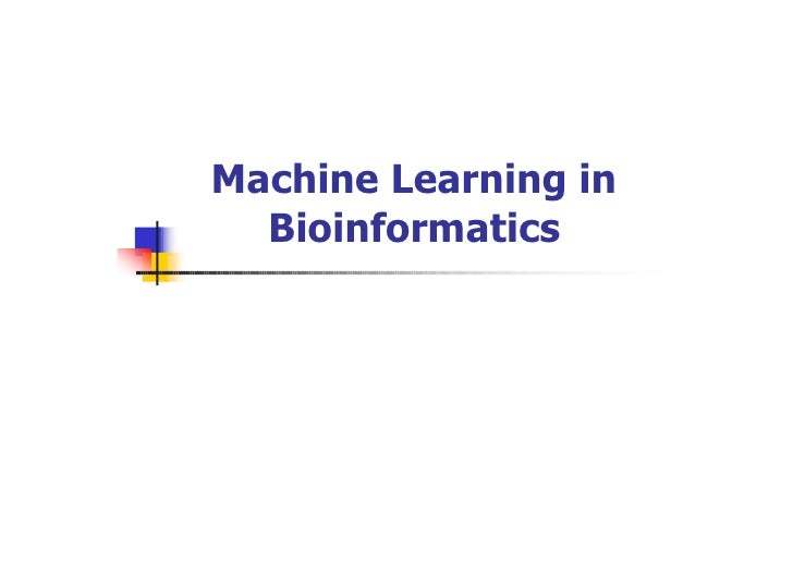 machine learning research topics