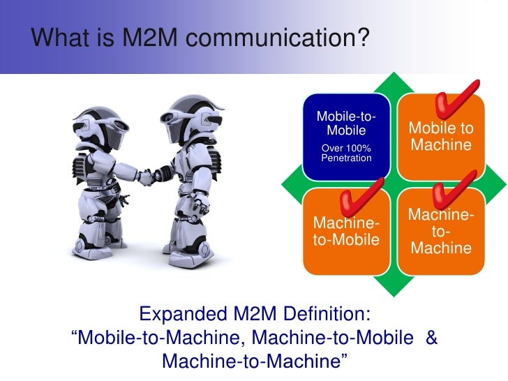 machine to machine m2m