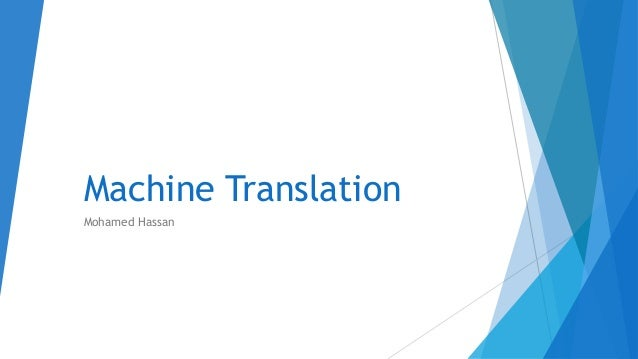 translation machine