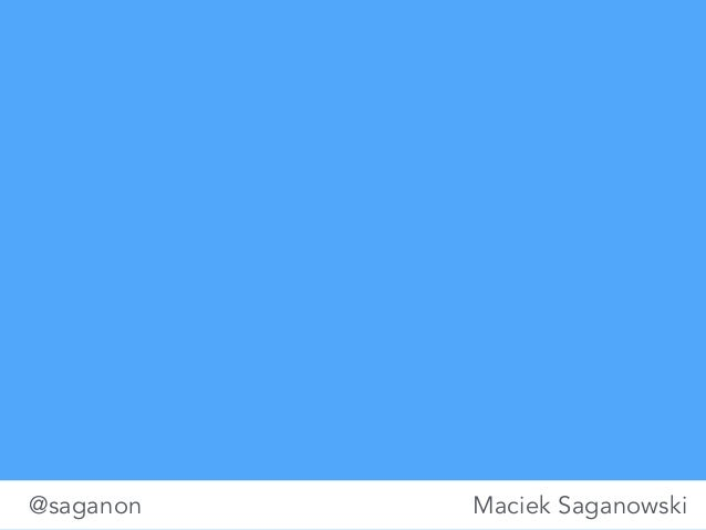 infoShare 2014: Maciej Saganowski, Designing Mobile Services.