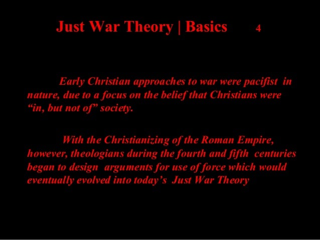 just war theory and the movie Utah state university from the selectedworks of gene washington 2014 movie: fury a representation of altruistic sacrfice and just war theory gene washington,utah state university.