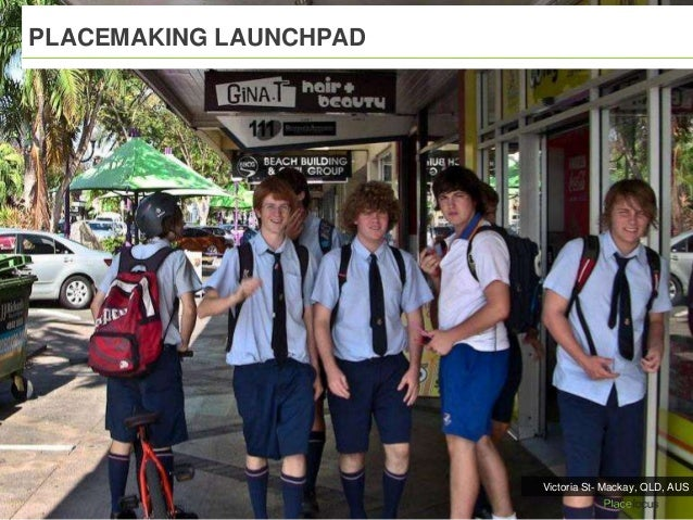 PLACEMAKING LAUNCHPAD Victoria St- Mackay, QLD, AUS
