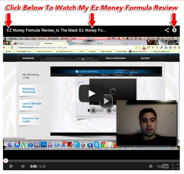 Mack EZ Money Formula Review