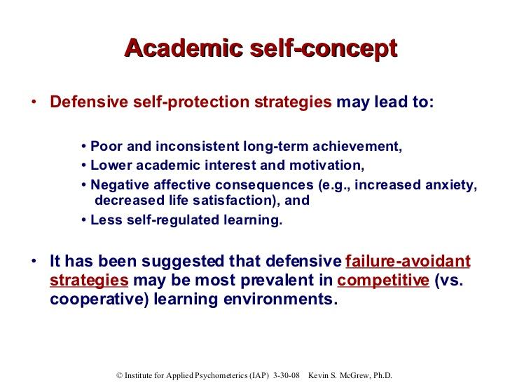 Academic self-efficacy and academic self-concept - Jamie Smith