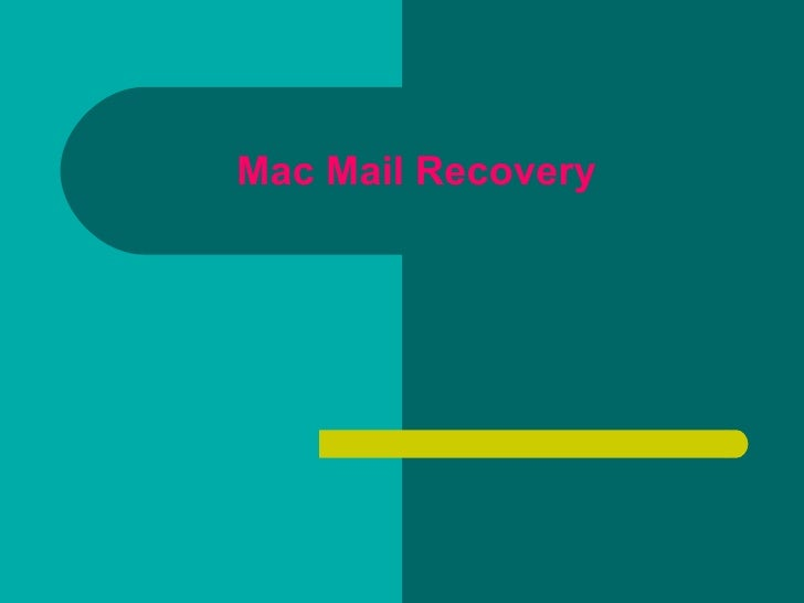 Fix mac mail corruption issues and related errors