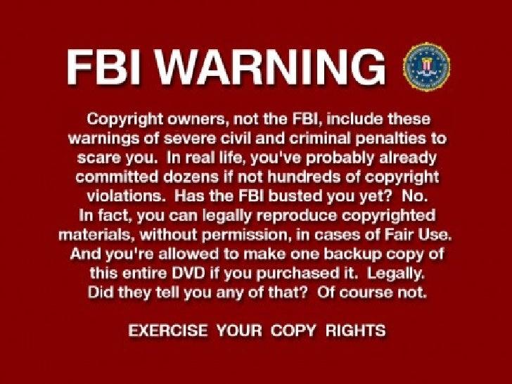 Copyright Information Presentation