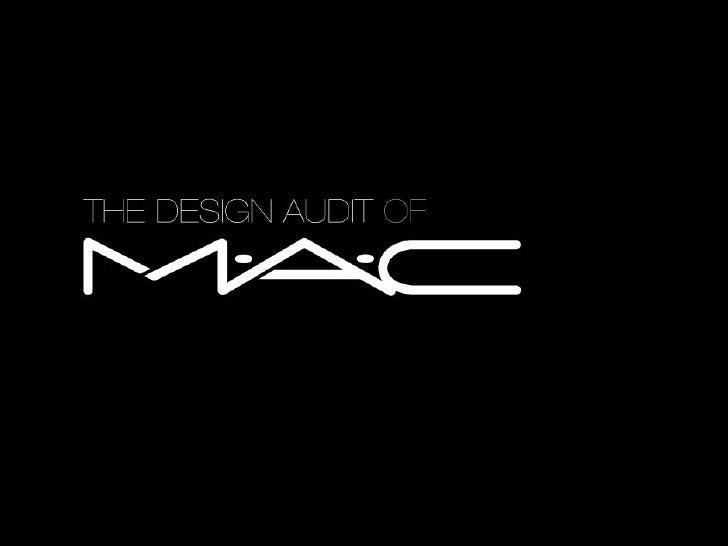M.A.C Design Audit