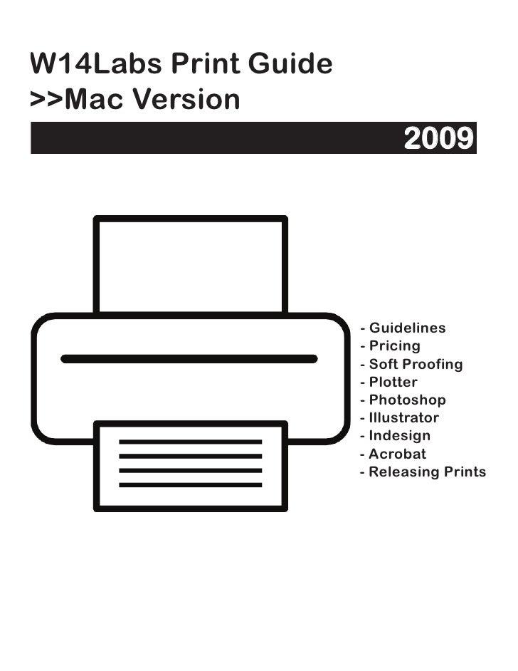 Mac Print Guide 2009