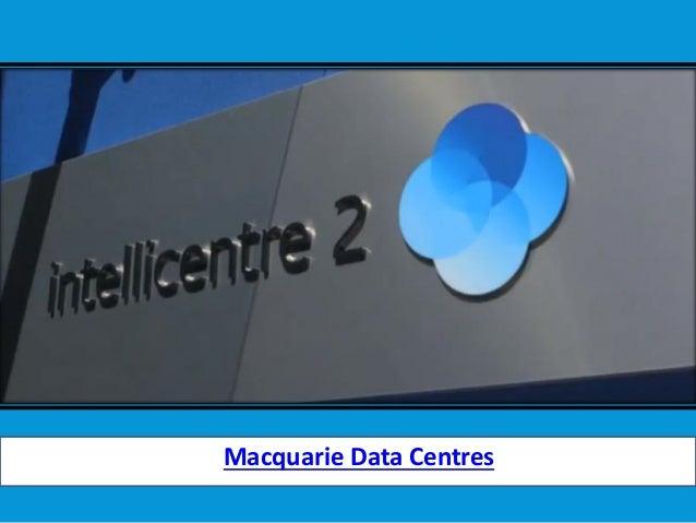Macquarie Data Centres