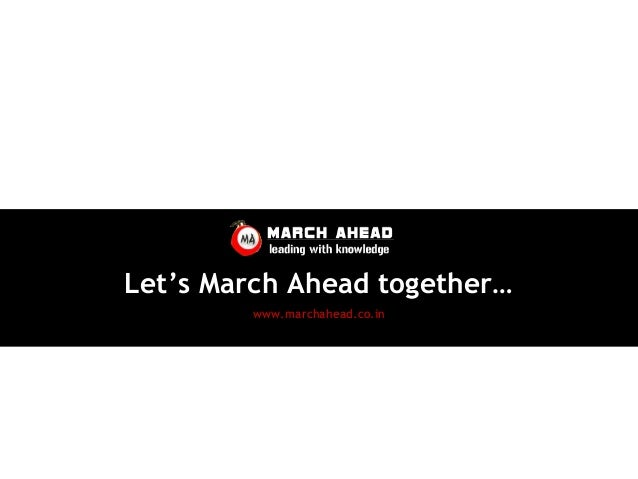 March Ahead Credentials