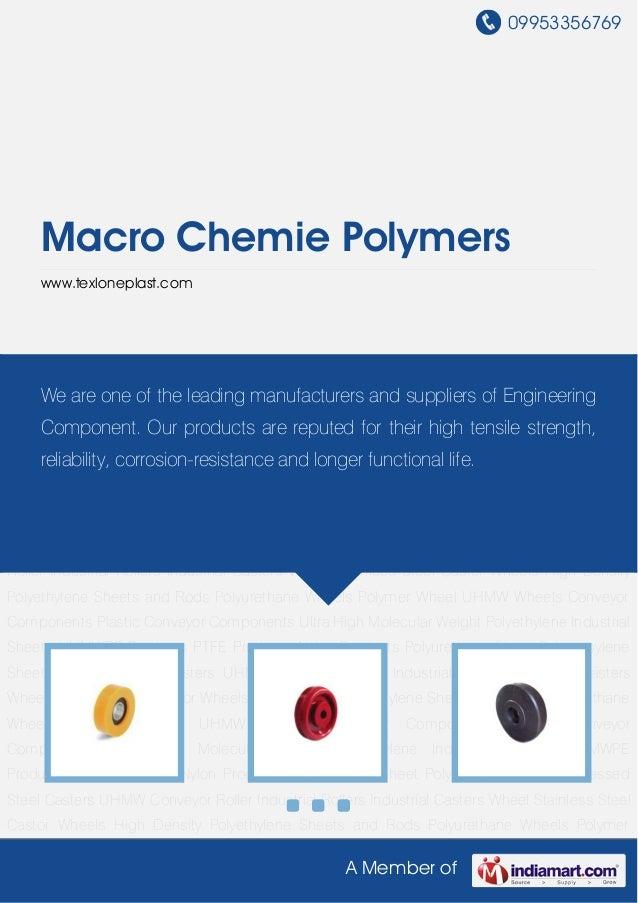 Macro chemie-polymers