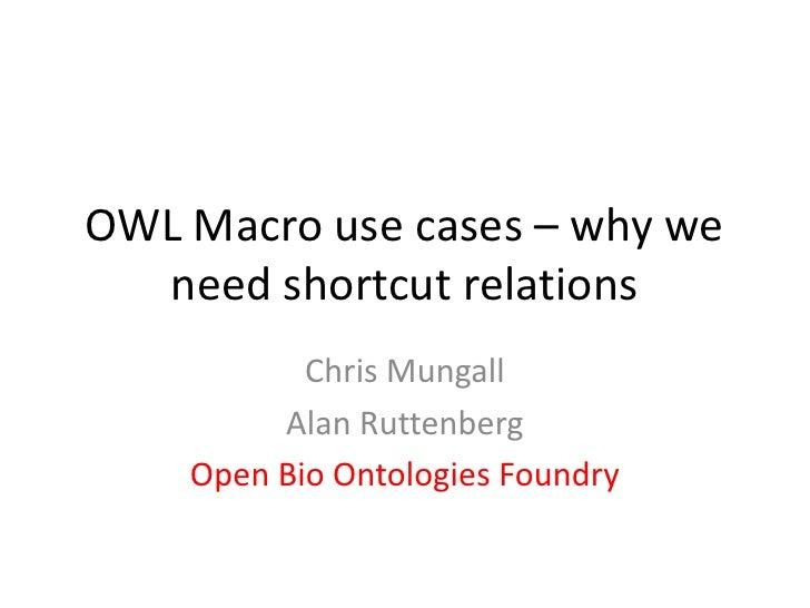 Macro discussion (owled 2010)