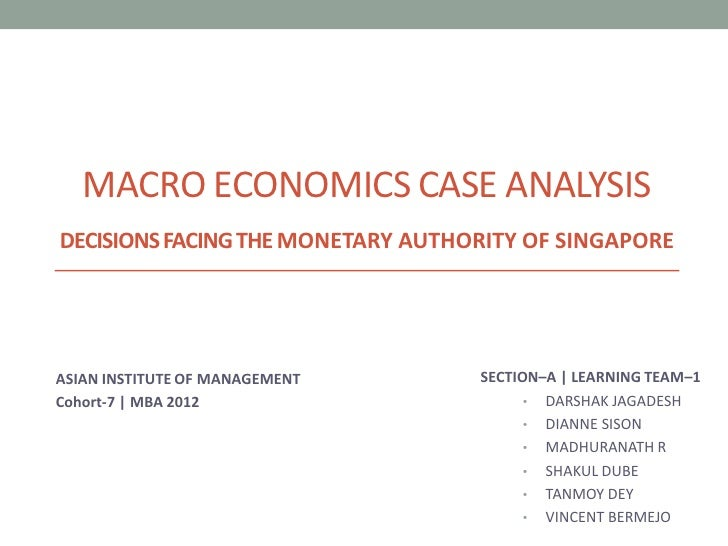 macro economics analysis The authors who think that they have substituted, in the analysis of the market   the distinction between macroeconomics and microeconomics is, as far as.