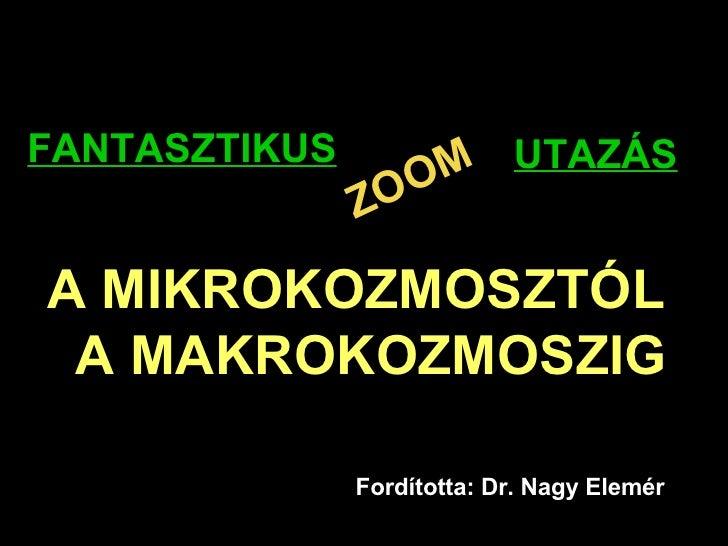 Macro Micro Cosmos