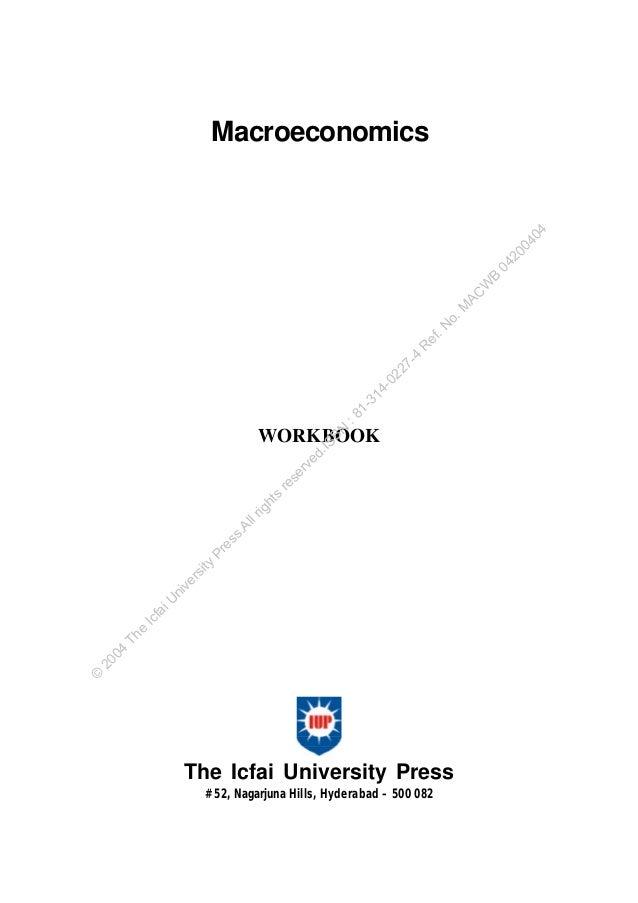 BN  :8  1-  31  4-  02  27  -4  R  ef .N  o.  M AC  W  B  04  20  04  04  Macroeconomics  ©  20 04  Th e  Ic  fa  iU  ni  ...