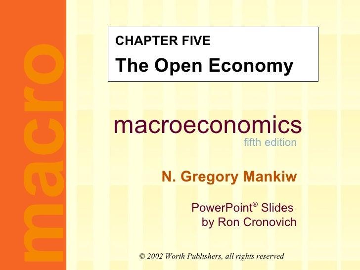 MACROECONOMICS-CH5