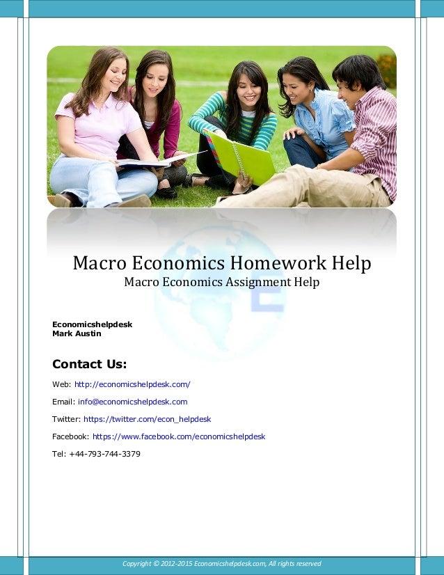 Help With Economics Essay