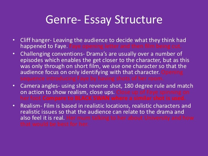 types of essay genres